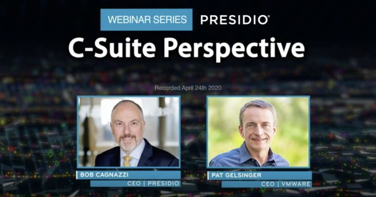 Presidio C-Suite Perspectives How Technology Leaders are Responding to the Global Pandemic with VMware