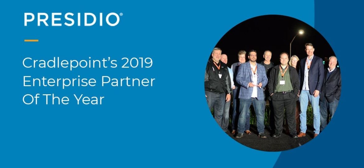Cradlepoint's 2019 Enterprise Partner of the Year