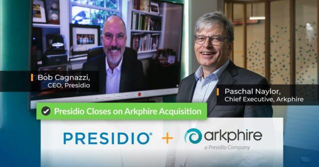 Presidio Closes on Arkphire Acquisition