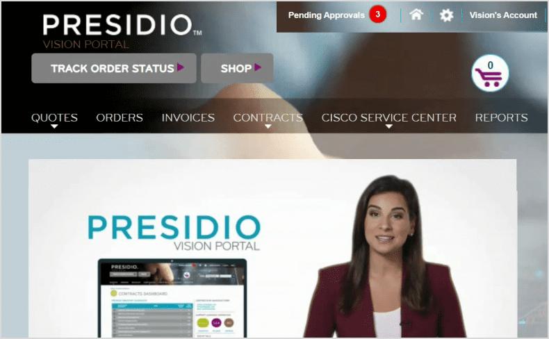 Presidio Vision Portal