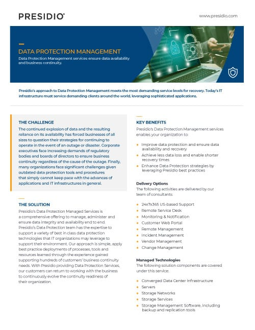Data Protection Management
