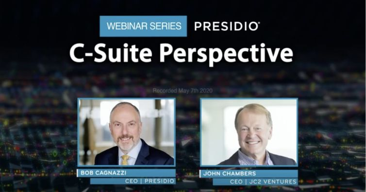 Presidio C-Suite Perspectives Series How Technology Leaders are Responding to the Global Pandemic with JC2 Ventures