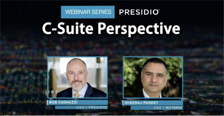 Presidio C-Suite Perspectives How Technology Leaders are Responding to the Global Pandemic with Nutanix