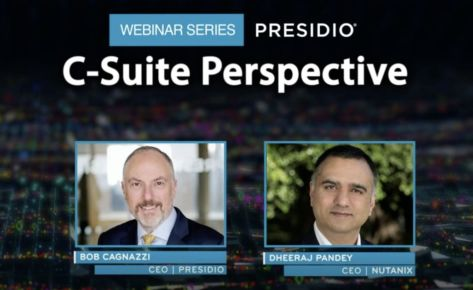 C-Suite Perspective Webinar Series: Nutanix