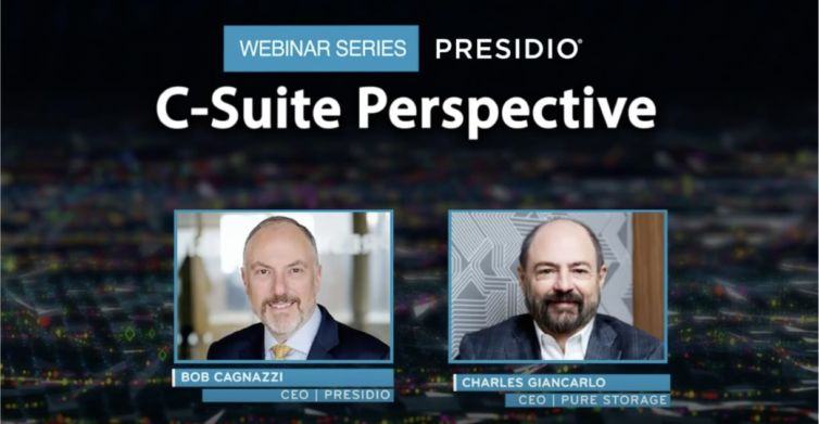 C-Suite Perspective Webinar Series: Pure Storage