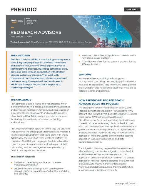 Red Beach Advisors