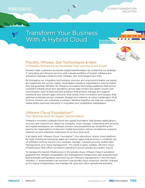 Transform Your Business with a Hybrid Cloud