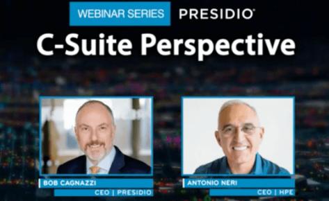 C-Suite Perspective Webinar Series: HPE