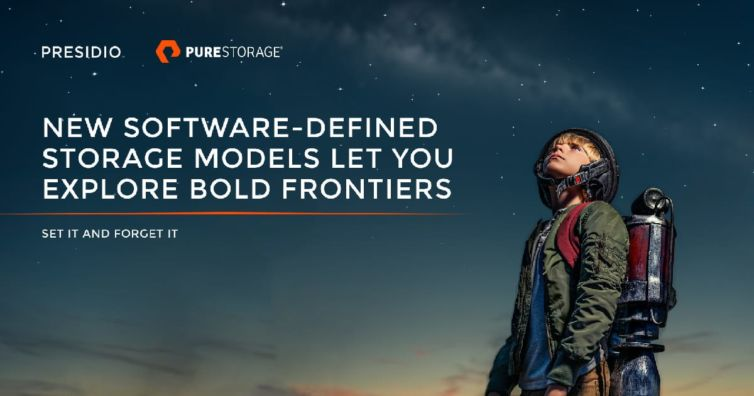 New Software-Defined Storage Models Let You Explore Bold Frontiers