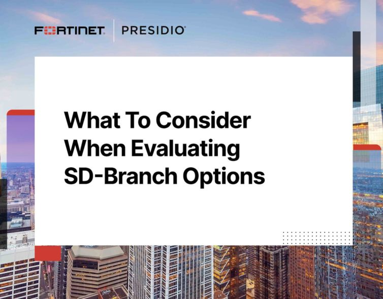 What to Consider When Evaluating SD-Branch Options